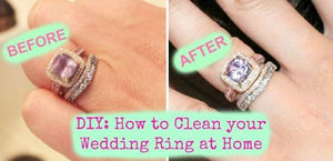 How to Safely Clean a Diamond Ring