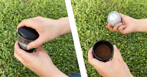 Nutshell - The Ultimate Portable Coffee Grinder by DripDrop