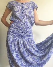 Load image into Gallery viewer, 1980's Anokhi Indian Cotton Paisley Sun Dress. M