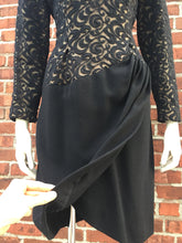Load image into Gallery viewer, Balmain Ivoire black wool dress. Size 40