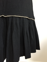 Load image into Gallery viewer, 1980's Nicole Matsuda Light Wool Jersey 2 Piece Skirt Set. S/M