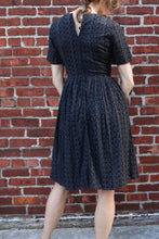 Load image into Gallery viewer, 1960s Cotton Eyelet Dress. Size 2-4