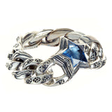 Silver Bracelet ELFIN STAR and Decor Links