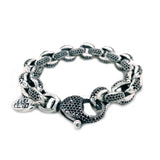 Silver Bracelet PEAS Chain ROYAL