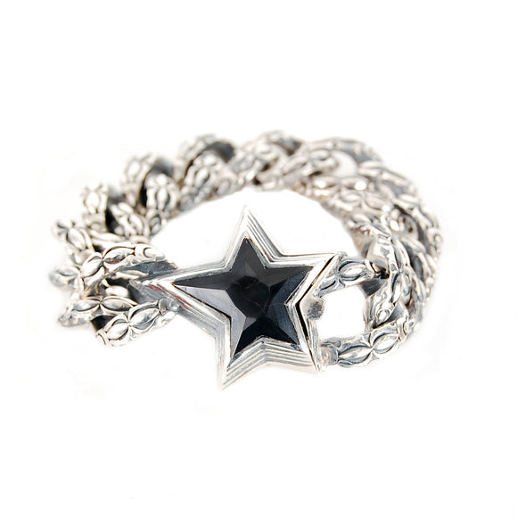 Silver Bracelet SHOOTING STAR Garden At Night Chain S