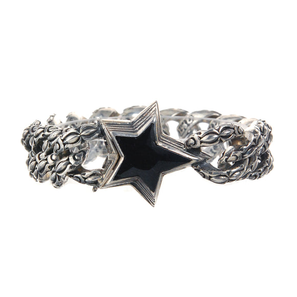 Silver Bracelet SHOOTING STAR Garden At Night Chain M