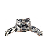 Silver Bracelet LION HEAD L  Chain M
