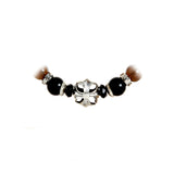 Silver Beads Bracelet MALTESER CROSS Ball