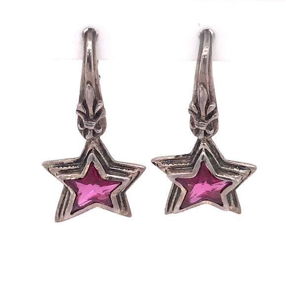 Silver Earhanger SHOOTING STAR