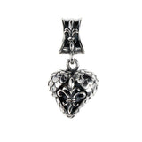 "Pendant ""Heart"" ""Dragon scales"""