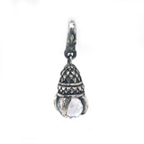 Silver Pendant DRAGON CLAW XS with Stone