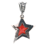 Silver Pendant SHOOTING STAR M 35mm Morning Star Loop