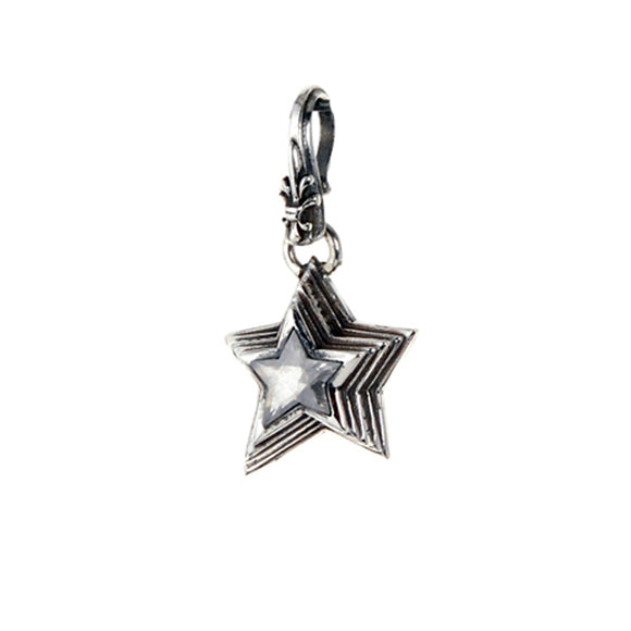 Silver Pendant SHOOTING STAR XS 22mm Lily hook