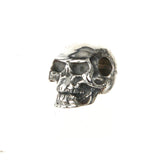 Silver Pendant SKULL  L  with Hole