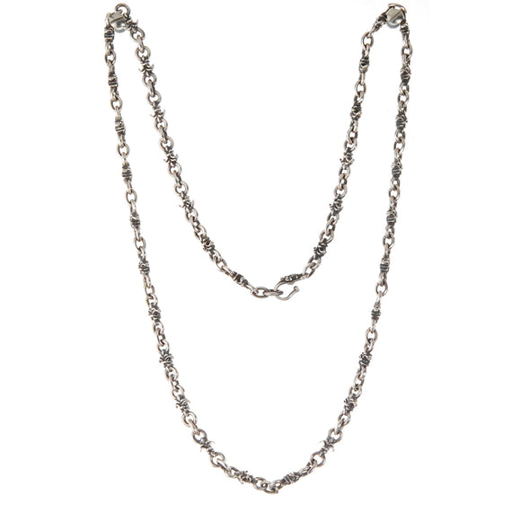 Silver Neckchain LILY and Navette XS