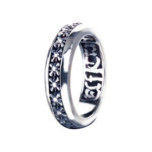 Silver Ring with Morning Stars
