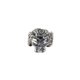 Silver Ring MAGIC PLANT and LION HEAD