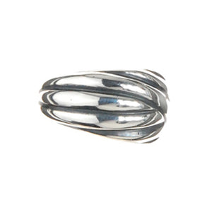 Silver Rings Solid Bands M
