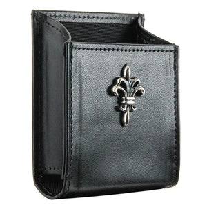 Cigarette Box Cover with SILVER LILY