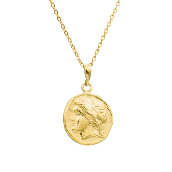Augustus Medallion Necklace - PHYSICAL Amalfi Dreams