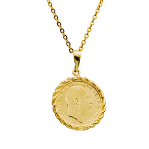Lucius Coin Necklace - PHYSICAL Amalfi Dreams