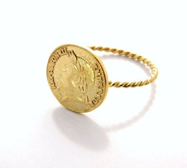 Marcus Coin Ring - Physical Amalfi Dreams