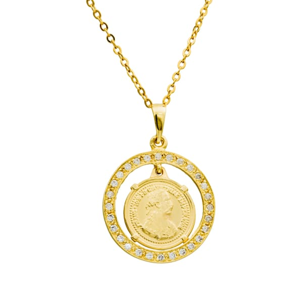 Titus Coin Necklace - PHYSICAL Amalfi Dreams