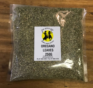 The Spice Girls - Oregano Leaves 250g