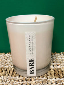 Bare - B Awakened Eco Soy Candle  -  Coconut and Lime | Solar Plexus | Energising | Soy Wax