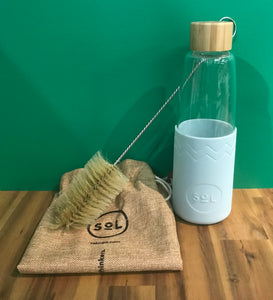 Handblown Glass Reusable Bottle 850ml
