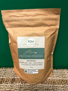 PDH Hemp Protein Powder 750g