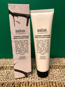 salus - Hand and Cuticle Cream 100ml  -  Lavender and Mandarin