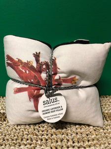 salus - Heat Pillow Pink Pod Botanical - Organic Lavender and Jasmine