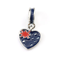Australian Flag on Heart
