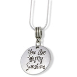 You are My Sunshine Necklace | Sunshine Necklace Friendship Charm Jewelry