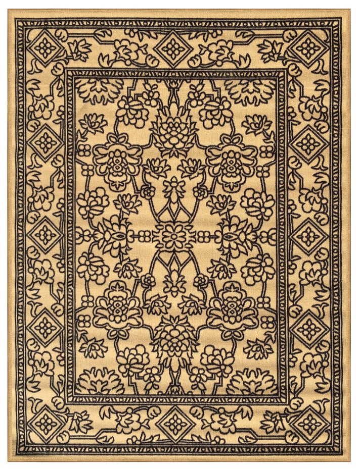 Matching Area Rugs Beige Medallion