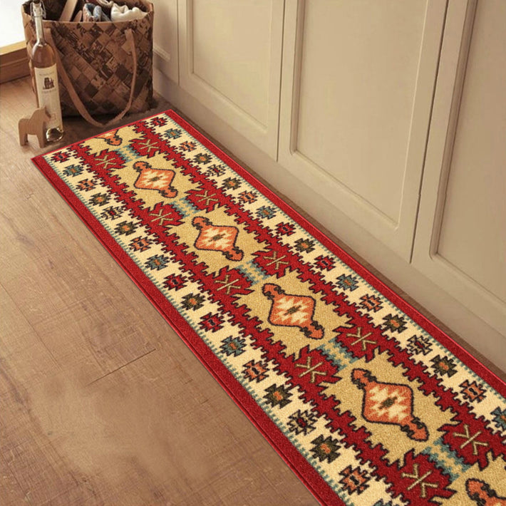 Traditional Custom Size Multicolor Runner Rug