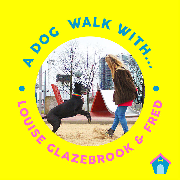 A Dog Walk With: Dog Behaviourist Louise Glazebrook & her dog Fred