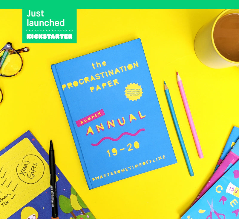 The Procrastination Paper Annual is here!
