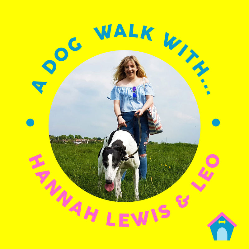 A Dog Walk With: Illustrator Hannah Lewis & her dog Leo