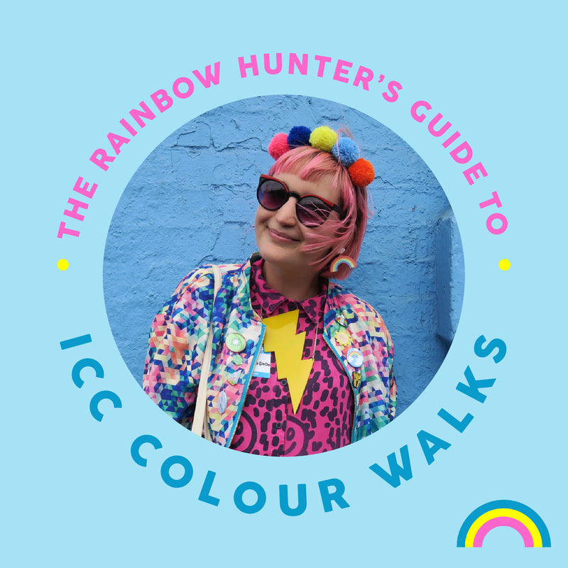 The Rainbow Hunter's Guide to: In Colourful Company Colour Walks