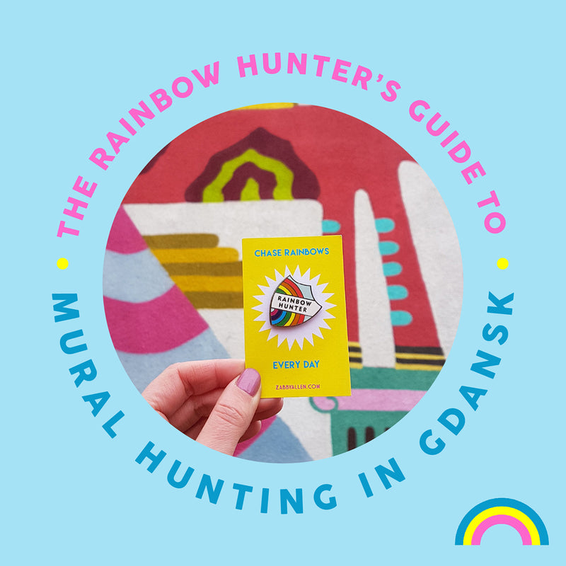 The Rainbow Hunter's Guide To: Mural Hunting in Gdańsk