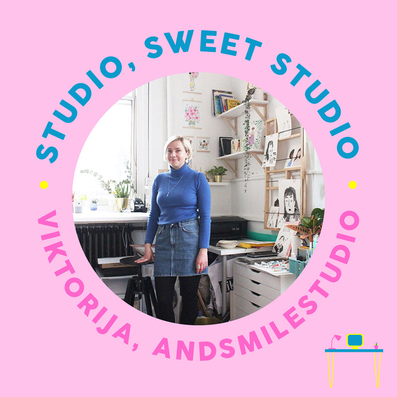 Studio Sweet Studio: Illustrator Viktorija of AndSmileStudio