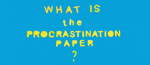 What is the Procrastination Paper?