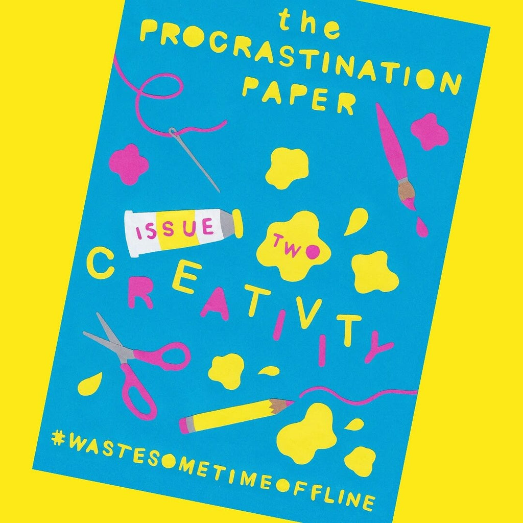 The Procrastination Paper Issue 2 - Creativity /  Mini Magazine by Zabby Allen