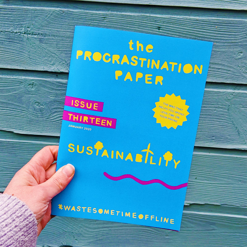 The Procrastination Paper Issue 13: Sustainability (Single Copy)