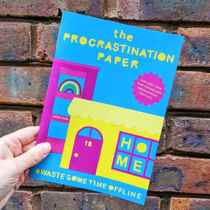The Procrastination Paper Issue 18: Home (Single Copy)
