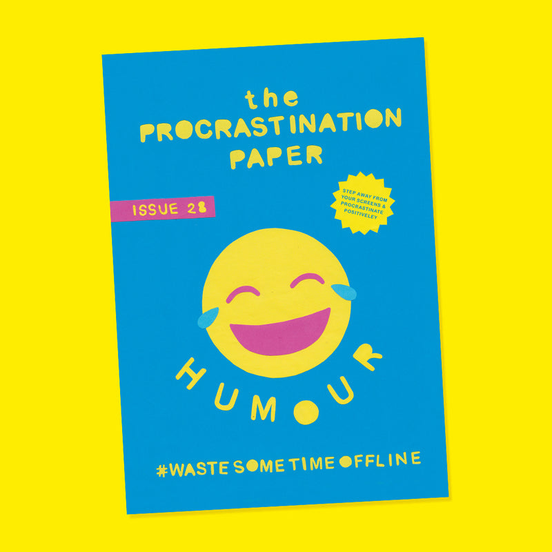 The Procrastination Paper Issue 28: Humour (Single Copy)