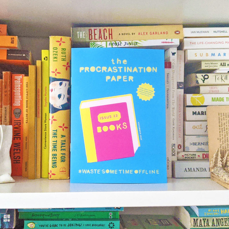 The Procrastination Paper Issue 23: Books (Single Copy)