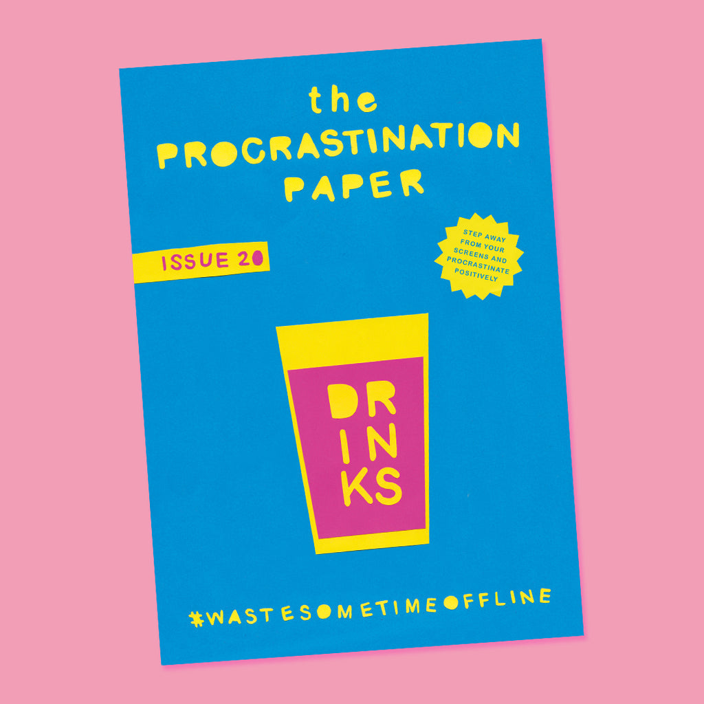 The Procrastination Paper Issue 20: Drinks (Single Copy)
